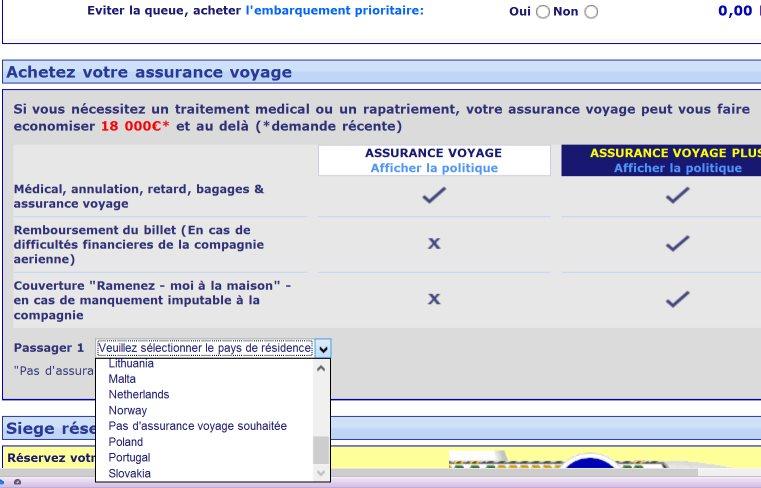 La facturación con Ryanair, una etapa que preparar cuidadosamente en Ryanair.com © B.B