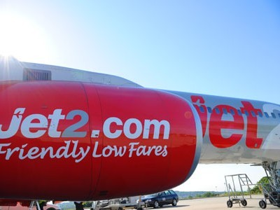 Un avion de la compagnie low cost Jet2. © DR | © QuelleCompagnie.com
