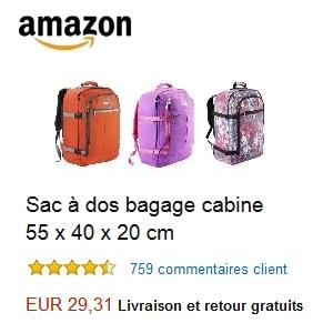 interdit en bagage cabine